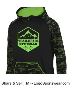 Men's Lime Green Hoodie Design Zoom