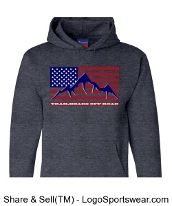 Men's THOR Flag Hoodie Design Zoom